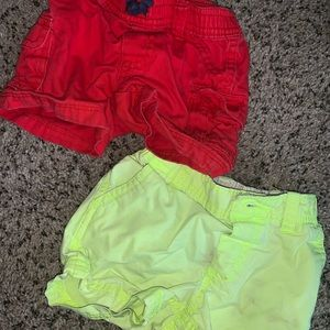 Carters 12 month shorts
